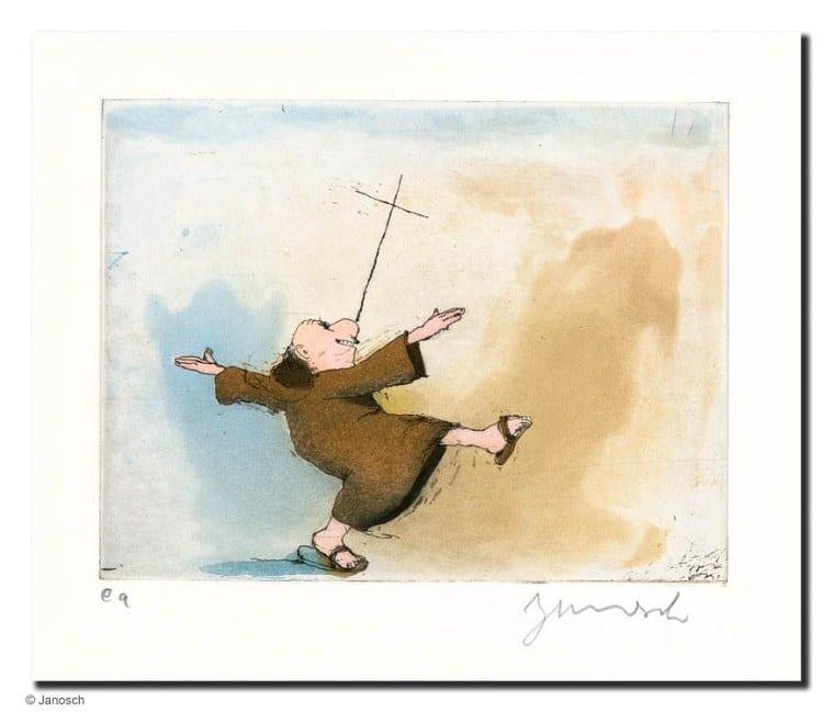Janosch | Pater und Kreuz