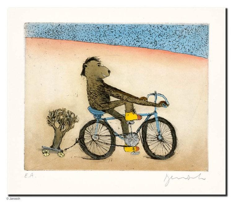 Janosch Fahrradbär