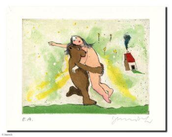 Janosch Der Bär, der Bär, der wiegt nicht schwer
