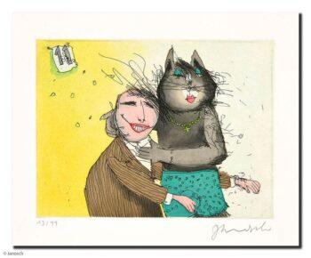 Janosch | Katze No. 11