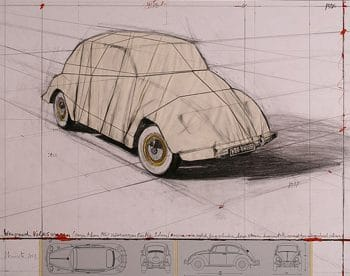 Christo | Wrapped Volkswagen - 2013