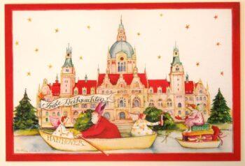 "Christina Thrän | Weihnachtskarte ""Hannover"""