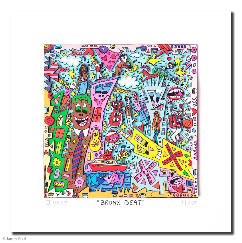 James Rizzi | Bronx Beat