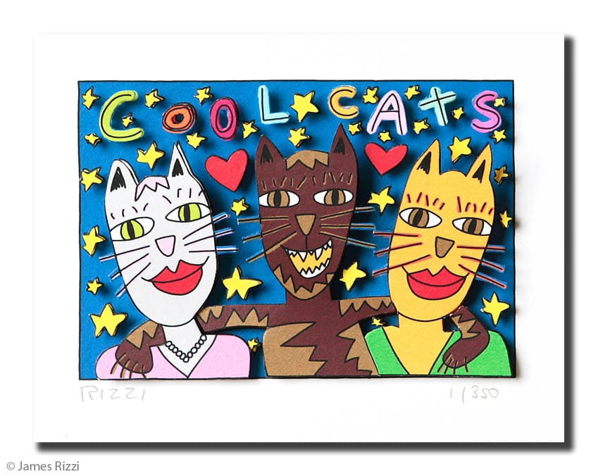 James Rizzi | Cool Cats