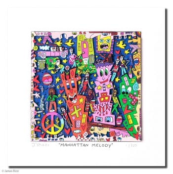 James Rizzi | Manhattan Melody