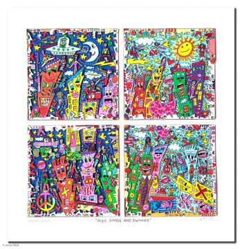 James Rizzi | N.Y.C. Sings and Swings