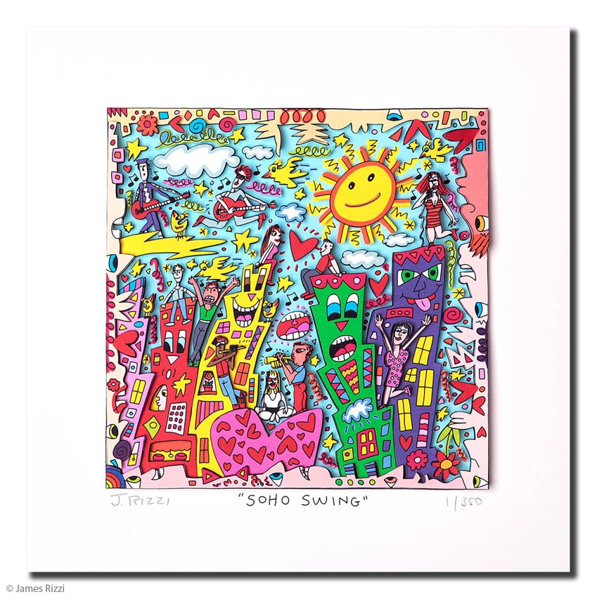 James Rizzi | Soho Swing