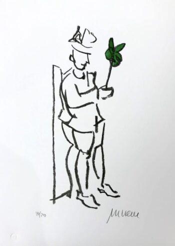 Armin Mueller-Stahl | Kompliment (grün)