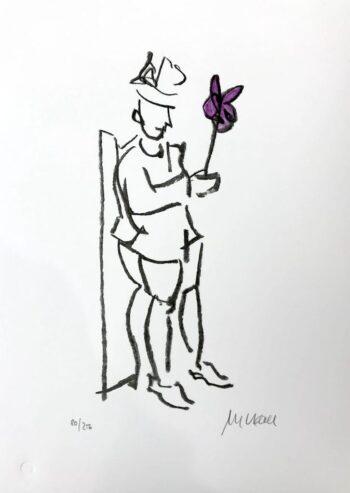 Armin Mueller-Stahl | Kompliment (violett)