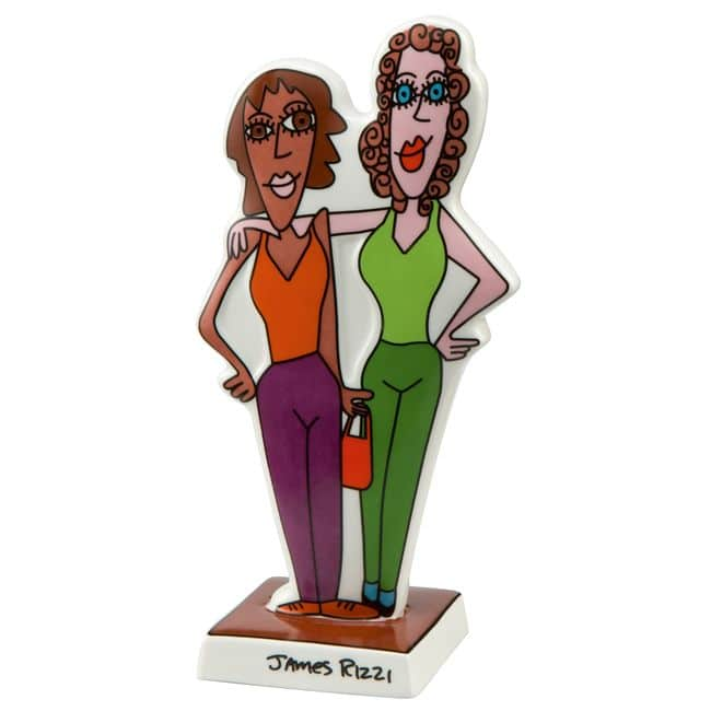 James Rizzi   Porzellanfigur Girls Night Out