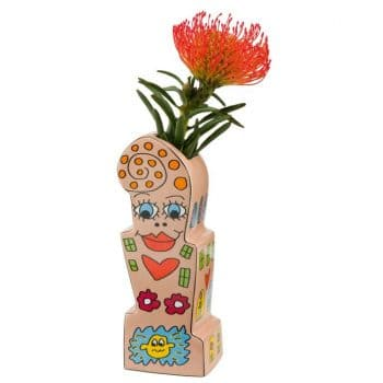James Rizzi   Porzellanvase Flowers for My Girl