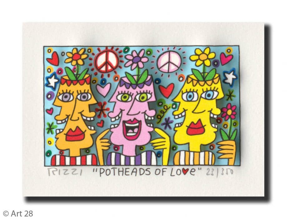 James Rizzi | Potheads of Love