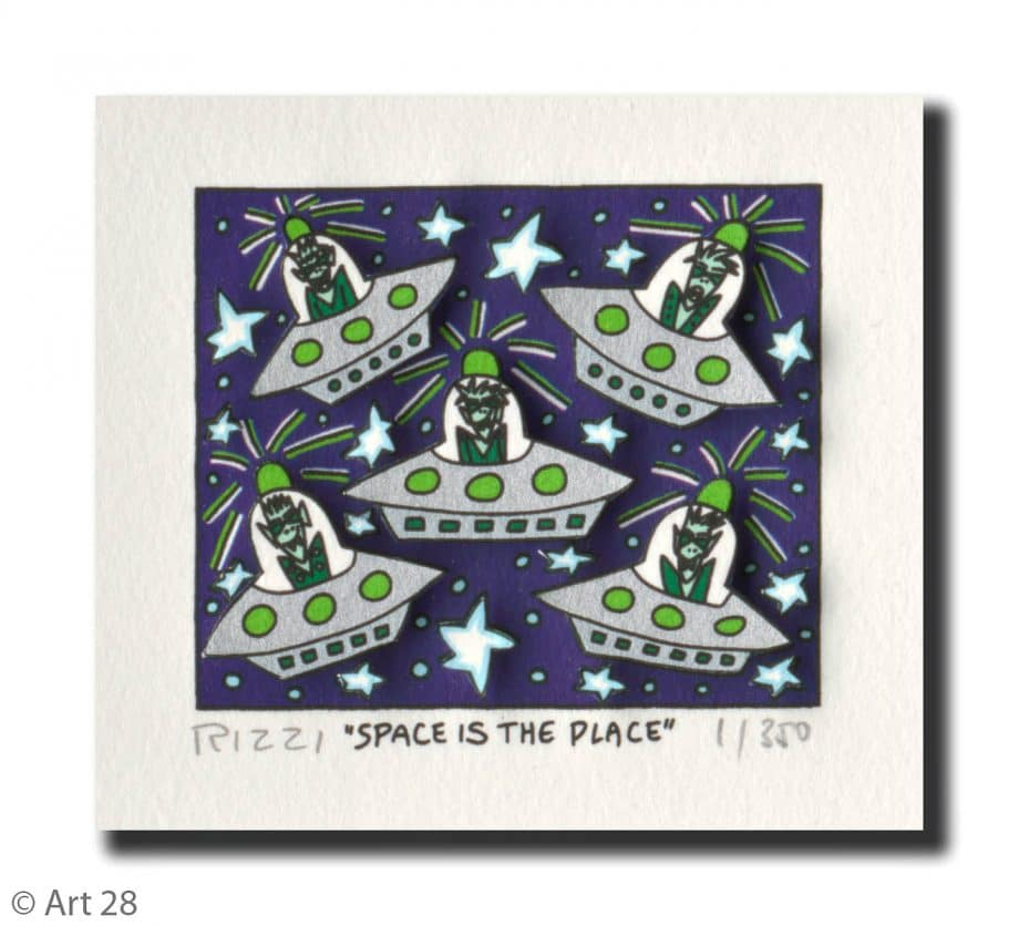 James Rizzi | Space is the Place