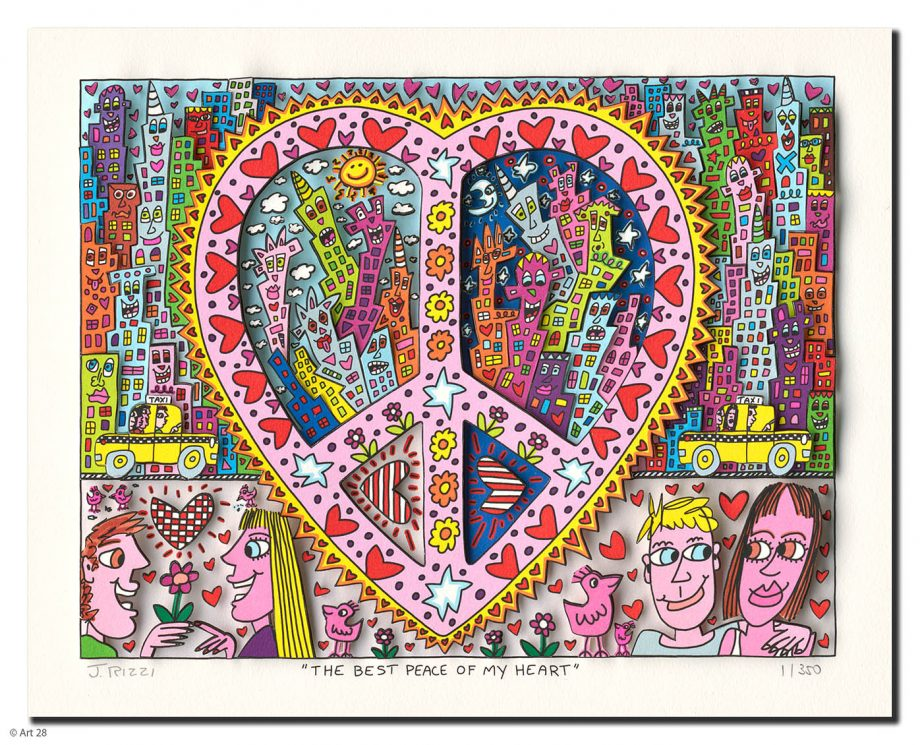 James Rizzi | The Best Peace of my Heart