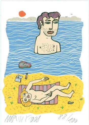 Moritz Götze | Am Strand