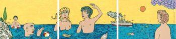 Moritz Götze | Im Meer, dreiteilig