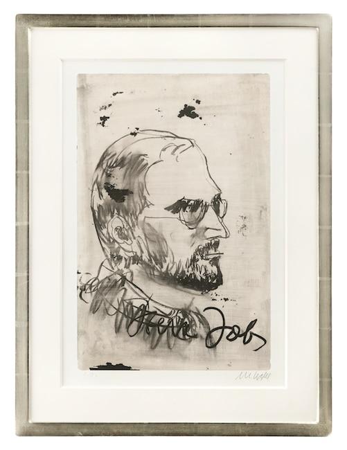 Armin Mueller-Stahl Steve Jobs - Portrait (gerahmt)