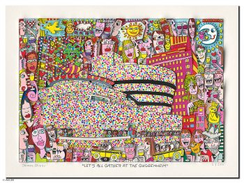 James Rizzi | Let's All Gather at the Guggenheim