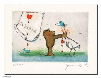 Janosch | Ich liebe dich (du Gans)