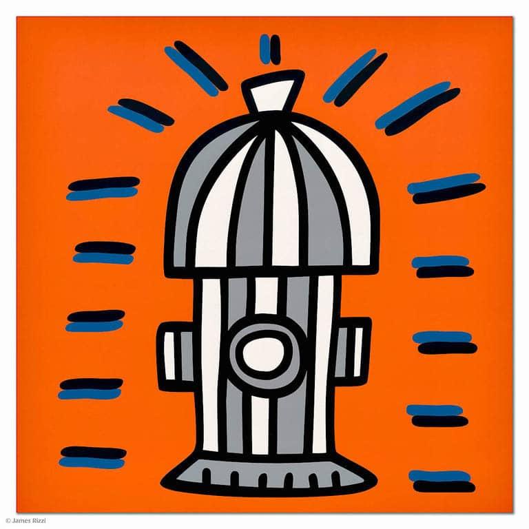 James Rizzi Icon Hydrant