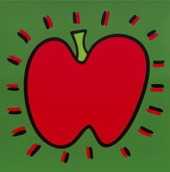 James Rizzi Icon Apple