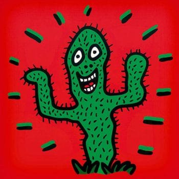 James Rizzi Icon Cactus