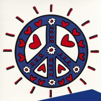 James Rizzi Icon Peace
