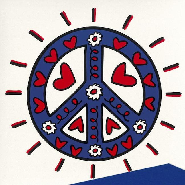 James Rizzi Icon Peace