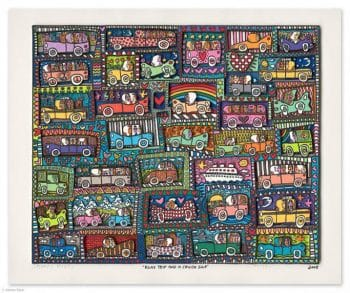 James Rizzi | Road trip and cruise ship