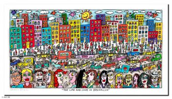 James Rizzi | Th Life and Love in Brooklyn