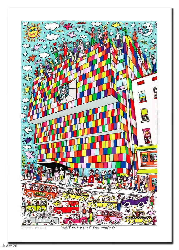 James Rizzi | Wait For Me At The Whitney
