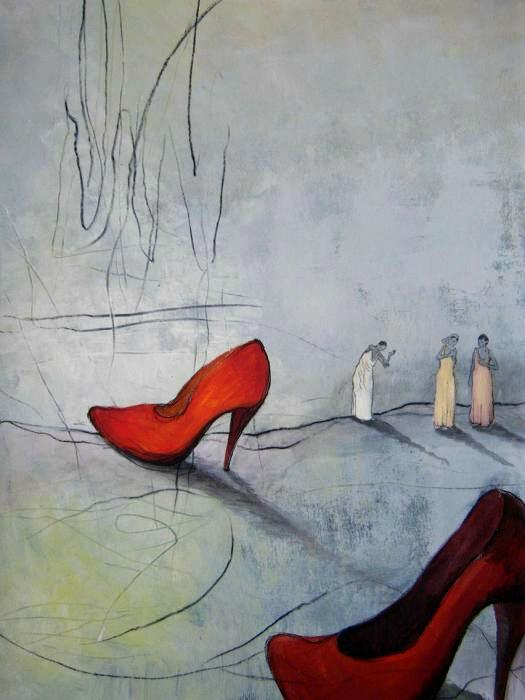 Antje Wichtrey   Rot (Schuhe)