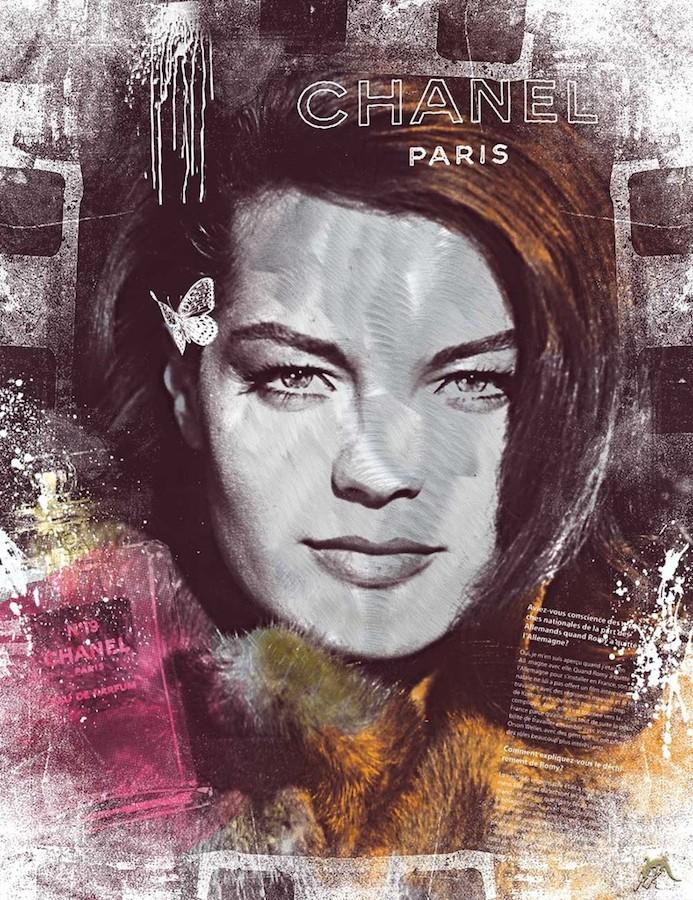 Devin Miles Night in Paris - Romy Schneider
