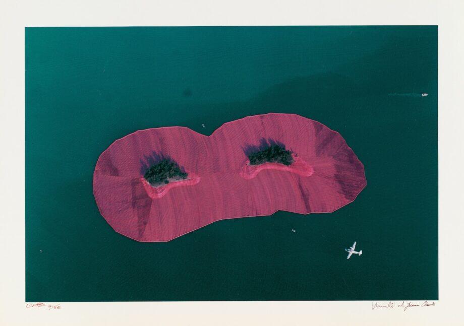Christo und Jeanne-Claude Surrounded Islands, handsigniert