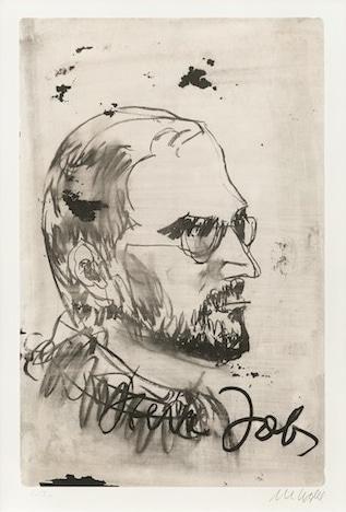 Armin Mueller-Stahl Steve Jobs - Portrait