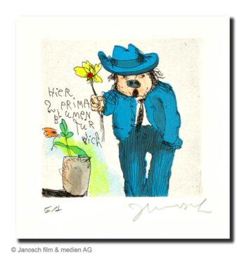 Janosch Prima Blumen für dich