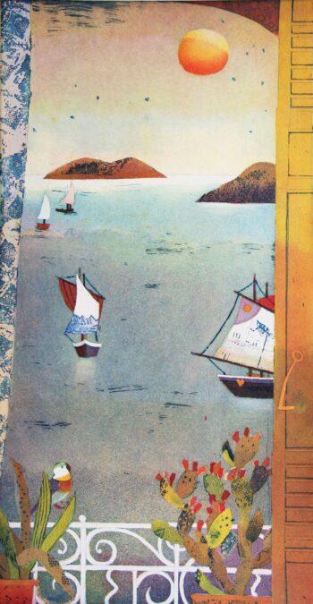 Jutta Votteler | Vorbeiziehende Schiffe