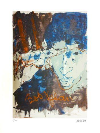 Armin Mueller-Stahl | Bob Dylan (Siebdruck)