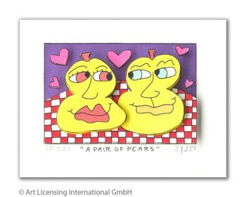 James Rizzi | A Pair of Pears