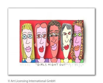 James Rizzi | Girls Night Out