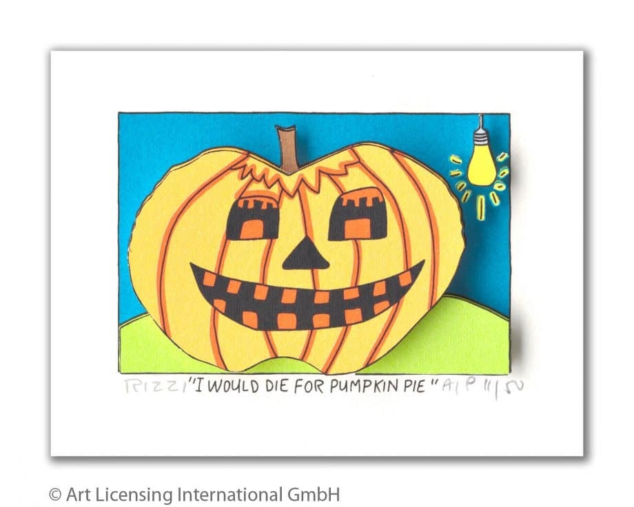 James Rizzi | I would die for a pumpkin pie