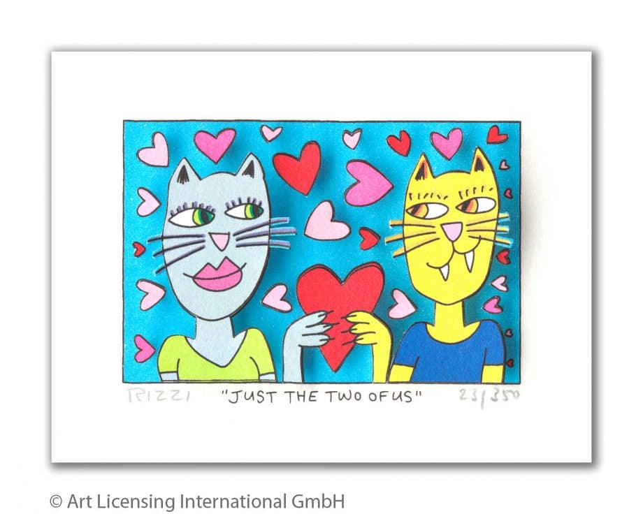 James Rizzi | Just the two of us