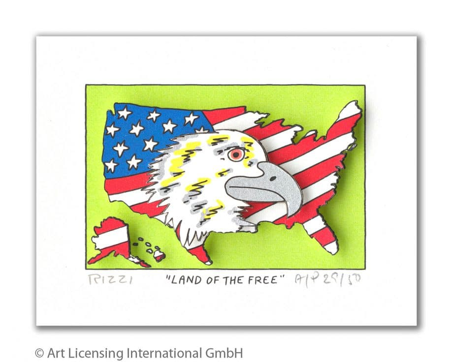 James Rizzi | Land of the Free