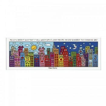 James Rizzi | Magnettafel My City Does Not Sleep