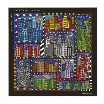 James Rizzi Magnettafel You Can't Take Rizzi Out Of The City
