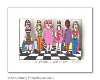 James Rizzi | Shop until you drop