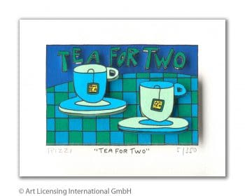 James Rizzi | Tea For Two