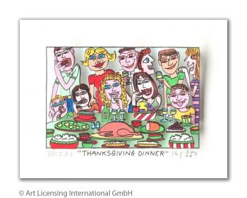 James Rizzi | Thanksgiviing Dinner