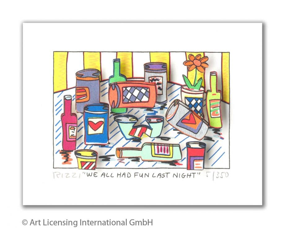 James Rizzi | We All Had Fun Last Night
