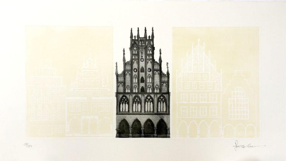 Joseph Robers | Münster Rathaus (klein)